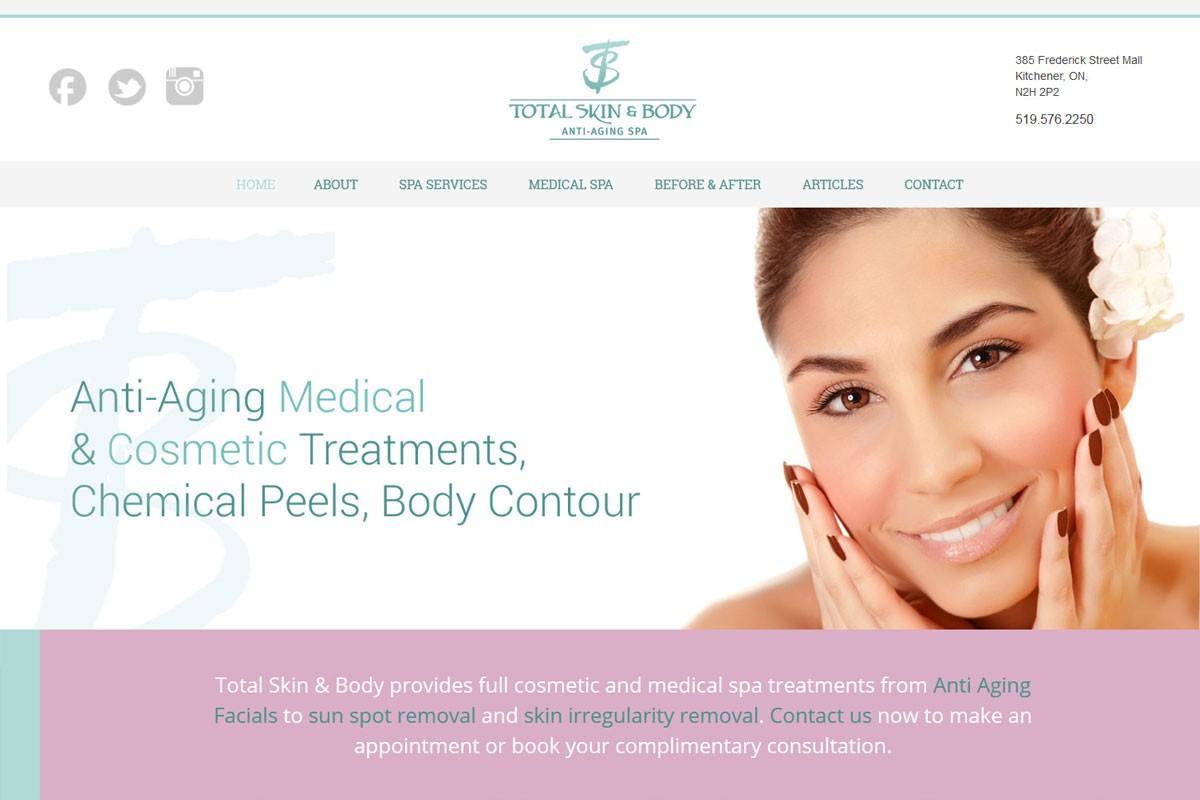 Examples of good website design
